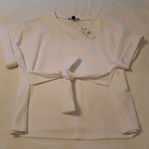 Express white top